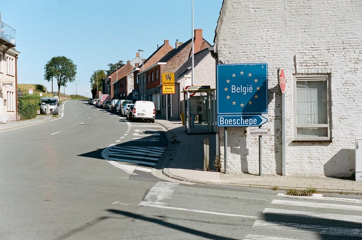 la frontière Belgique France