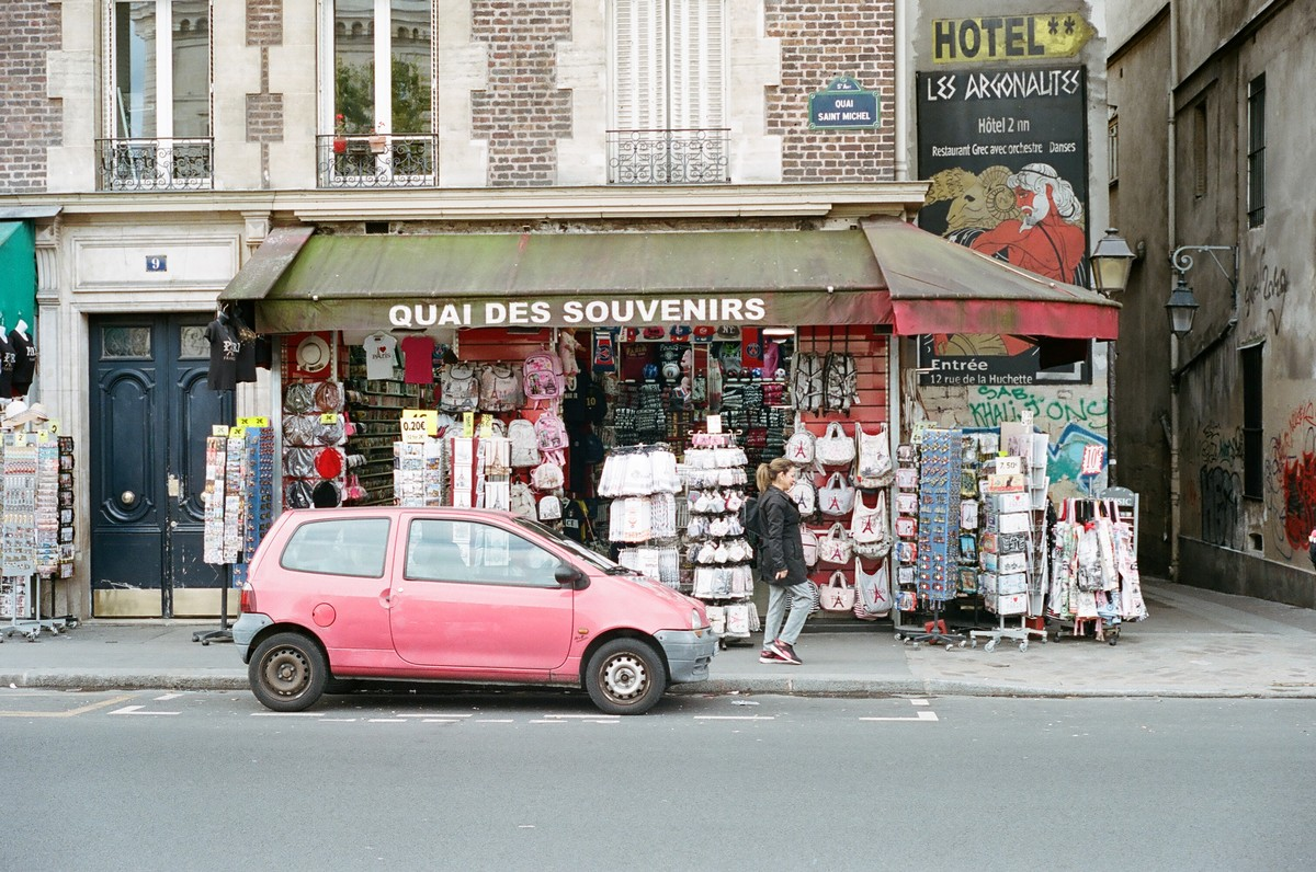 De passage à Paris