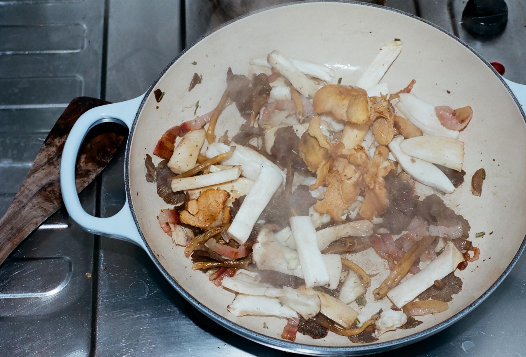 tagliatelles aux champignons de catherine deneuve