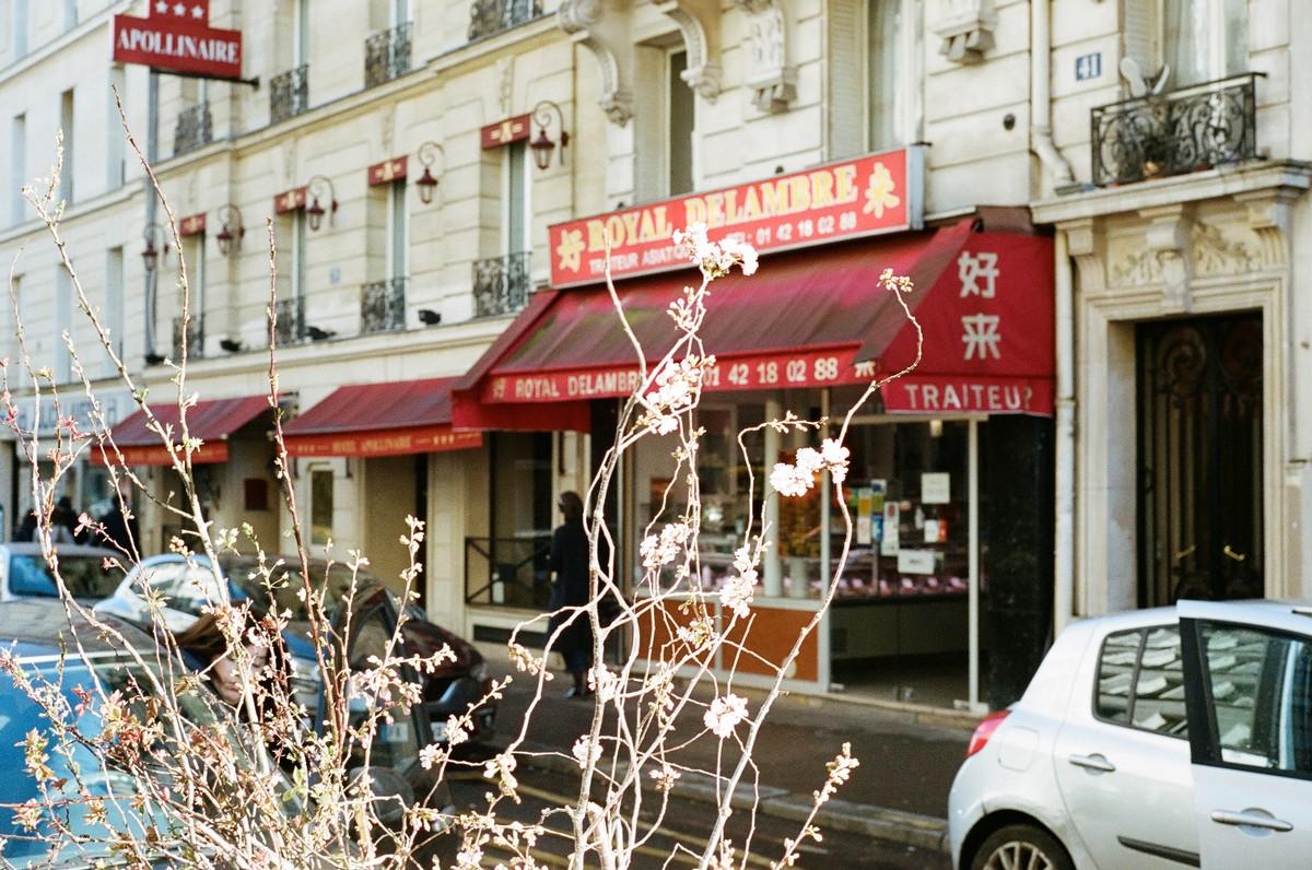 Dans les rues de Montparnasse