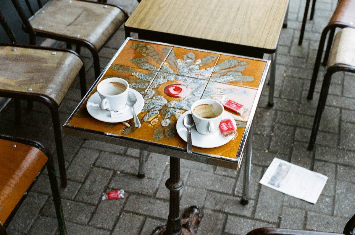 Les terrasses des cafés