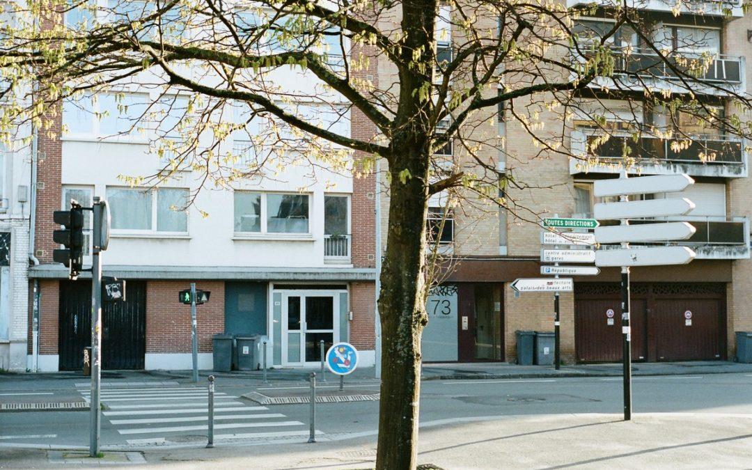 Les rues de Lille pendant le confinement