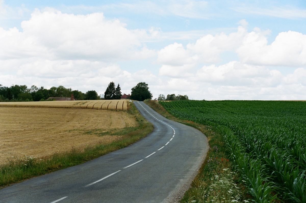 La traversée de la France en voiture